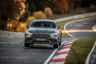 639 lóerős Mercedes a leggyorsabb négyajtós a Nürburgringen