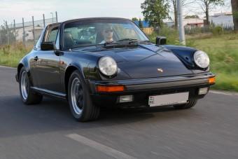 A 911 Targa az igazi, klasszikus léghűtéses Porsche