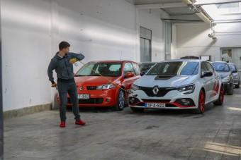 Ezek a Renault Megane-ok nem viccelnek