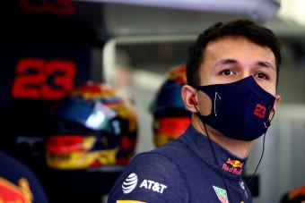 F1: Albonnak fáj, hogy kirúgta a Red Bull