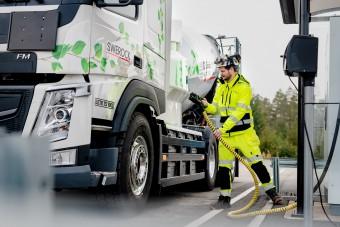 Jövőre érkezhet az elektromos Volvo FH