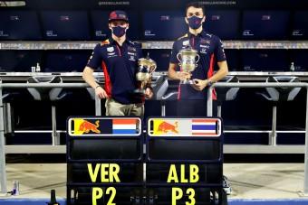 F1: Verstappen leszólta a csapattársát