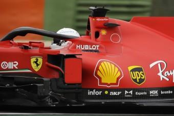 F1: Vettel megvédte a nagyot hibázó Ferrarit