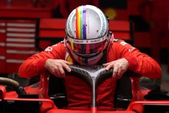 F1: Eladja idei legsikeresebb sisakját Vettel