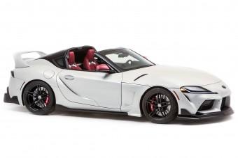 Végre levágták a Toyota Supra tetejét