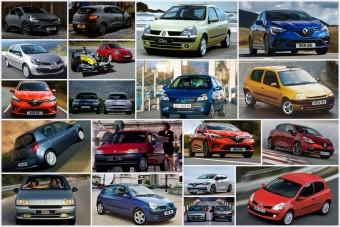 30 éves a Renault Clio