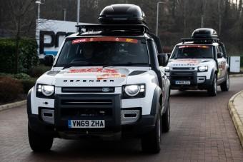 Visszatér a Dakarra a Land Rover