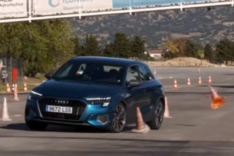 Gyengén muzsikált az Audi A3 a jávorszarvasteszten