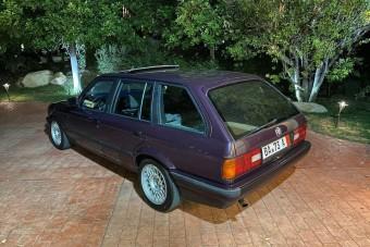 Kevés BMW E30-as készült ilyen egyedülálló színben