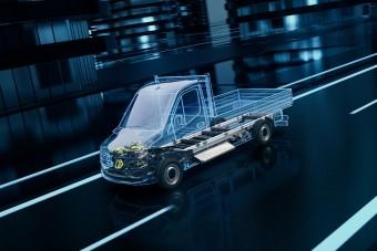 Itt a Mercedes-Benz válasza az E-Transitra
