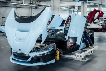Már gyártják a Rimac új hipersportkocsiját