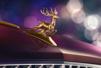 Karácsonyra készült ez a luxusautó