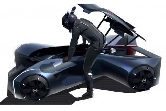 A jövő sportautójára ráhasalunk, nem beleülünk