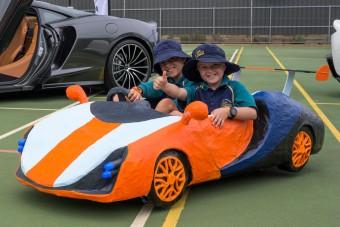 Hétévesek terveztek McLaren versenyautót
