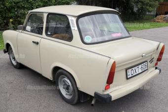 Kerek egymillióért eladó egy szinte új kétütemű Trabant