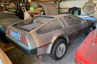 Ez a DeLorean szó szerint a múltból érkezett, mindössze 700 kilométert futott