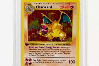 Több mint százmilliót fizettek egy Pokémon kártyáért