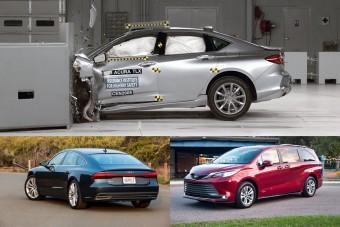 Ezek jelenleg Amerika legbiztonságosabb autói