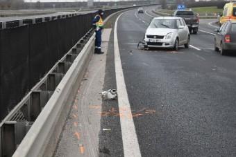 Pofátlan tettel végződött az M6-oson történt baleset