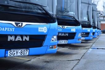 Új BKK-buszok állnak forgalomba Dél-Budán