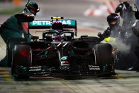 F1: Bottasszal elégedetlen a Mercedes, megbeszélés lesz 1