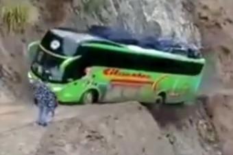 Jól szórakozott a buszsofőr a halálközeli élményen