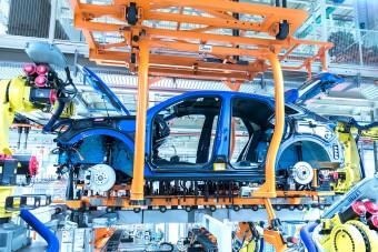 Jócskán visszaesett a gyártás a győri Audinál