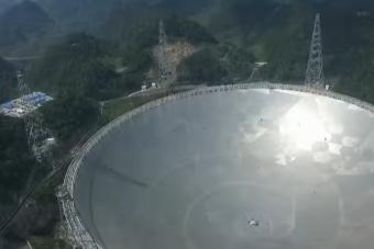 Minden eddigit felülmúló rádióteleszkóp épült Kínában