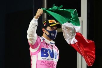 F1: Örömkönnyekben tört ki Pérez első győzelme után