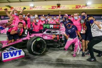 Perez kifakadt: Nem a legjobbak vannak az F1-ben