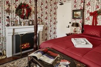 A Reszkessetek, betörőkből ismert házat idézi ez a lakosztály