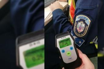 Az ittas vezetés Üvegtigrisbe illő jelenete zajlott a bonyhádi rendőrségen
