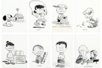 Rekordáron adtak el eredeti, 67 éves Snoopy-rajzokat