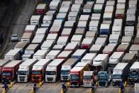 Alig volt pozitív eset az Angliában feltorlódott kamionosoknál 2
