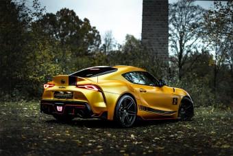 550 lóerős aranyrudat láttál már?