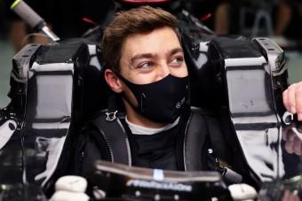 F1: Russell megfeledkezett róla, hol is a helye