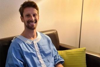 F1: Meg kellett operálni Grosjean kezét