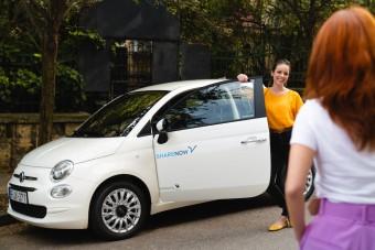 Fiat 500-asokkal bővít egy budapesti autómegosztó