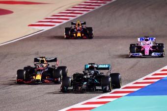 F1: Verstappen nem bánja, hogy kikosarazta a Mercedest