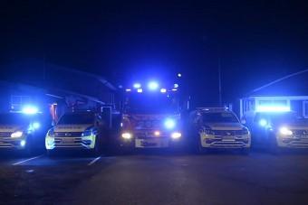 Az eddigi legjobb karácsonyi fényjátékot rendőrök rakták össze