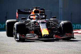 F1: Verstappen nyerte az év utolsó szabadedzését