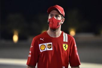 F1: Vettel nehezen nyelte le ezt a békát