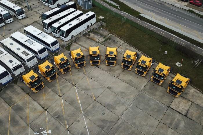 Fotos espectaculares de los nuevos tractores de Waberer 1