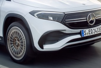 Bemutatta legkisebb villanyautóját a Mercedes