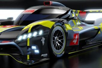 Újabb Le Mans-i csapat mutatta be versenyautóját