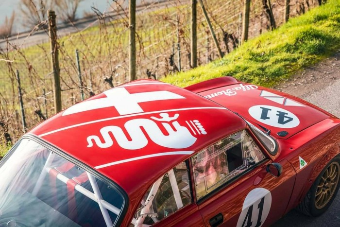 Your skin is still Italian, but everything else is Japanese in this Alfa Romeo 4