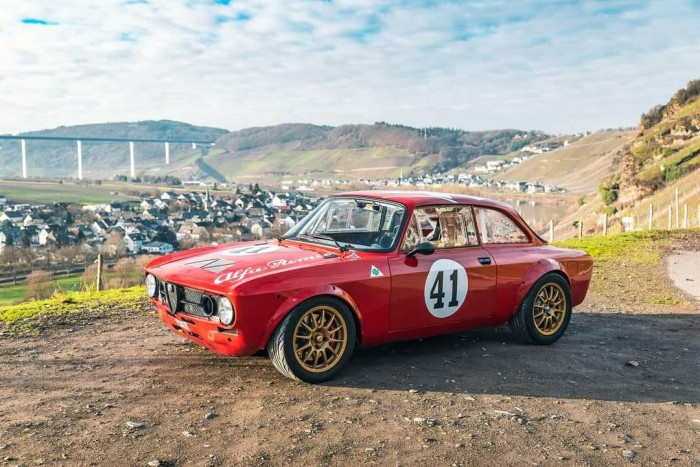 Your skin is still Italian, but everything else is Japanese in this Alfa Romeo 3