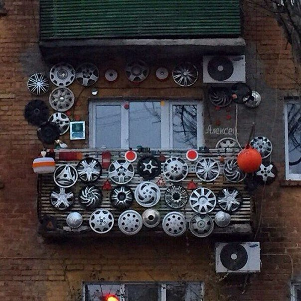 Unconscious of what these Russian balconies hide 4