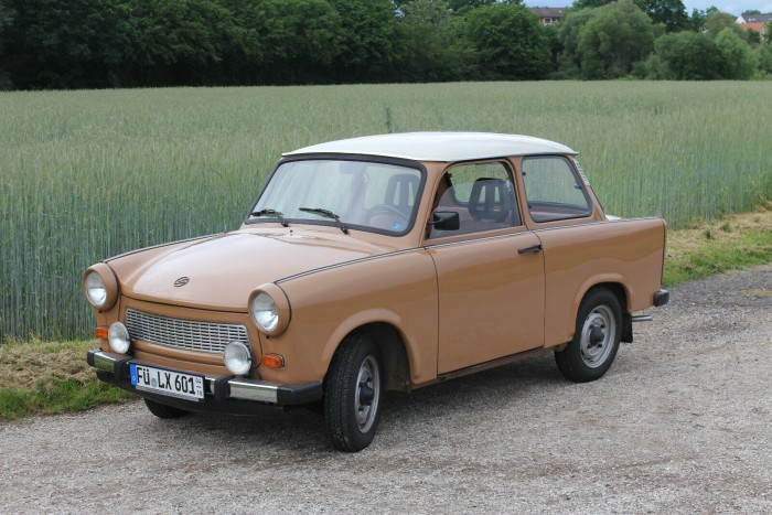 At 1450 km, this is the main prize of this Trabant 1