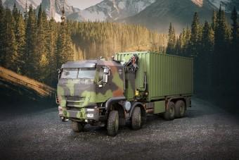 Több mint ezer teherautót vásárol a német hadsereg